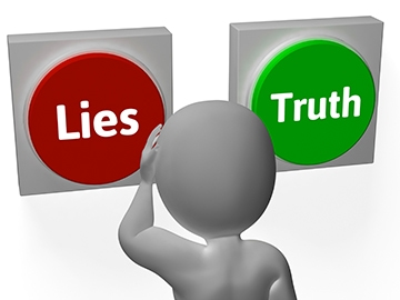 Tell the truth?